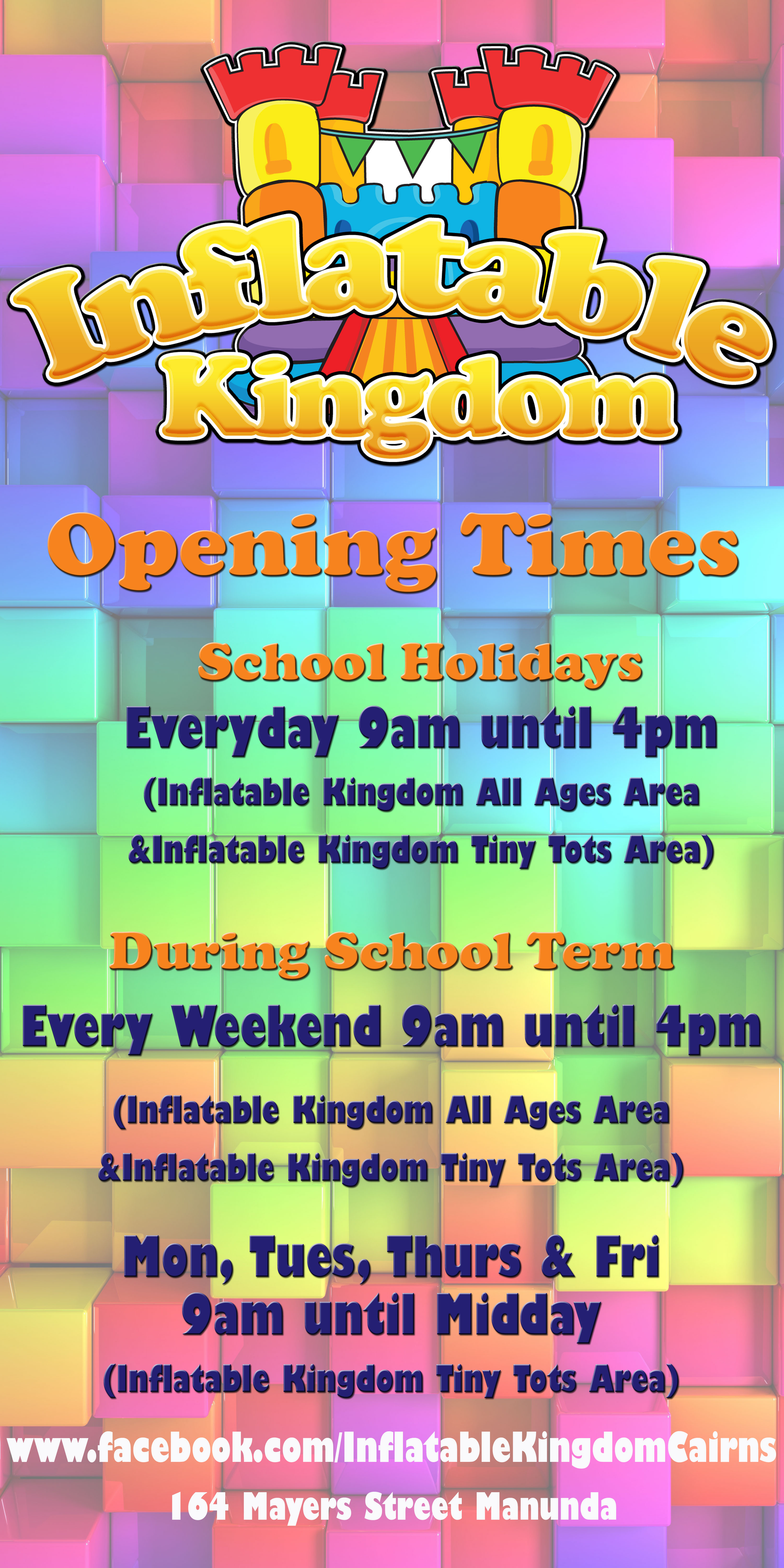 Inflatable Kingdom Cairns Largest Indoor Inflatable